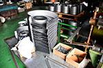 金属加工とスピニング加工について|絞り加工について